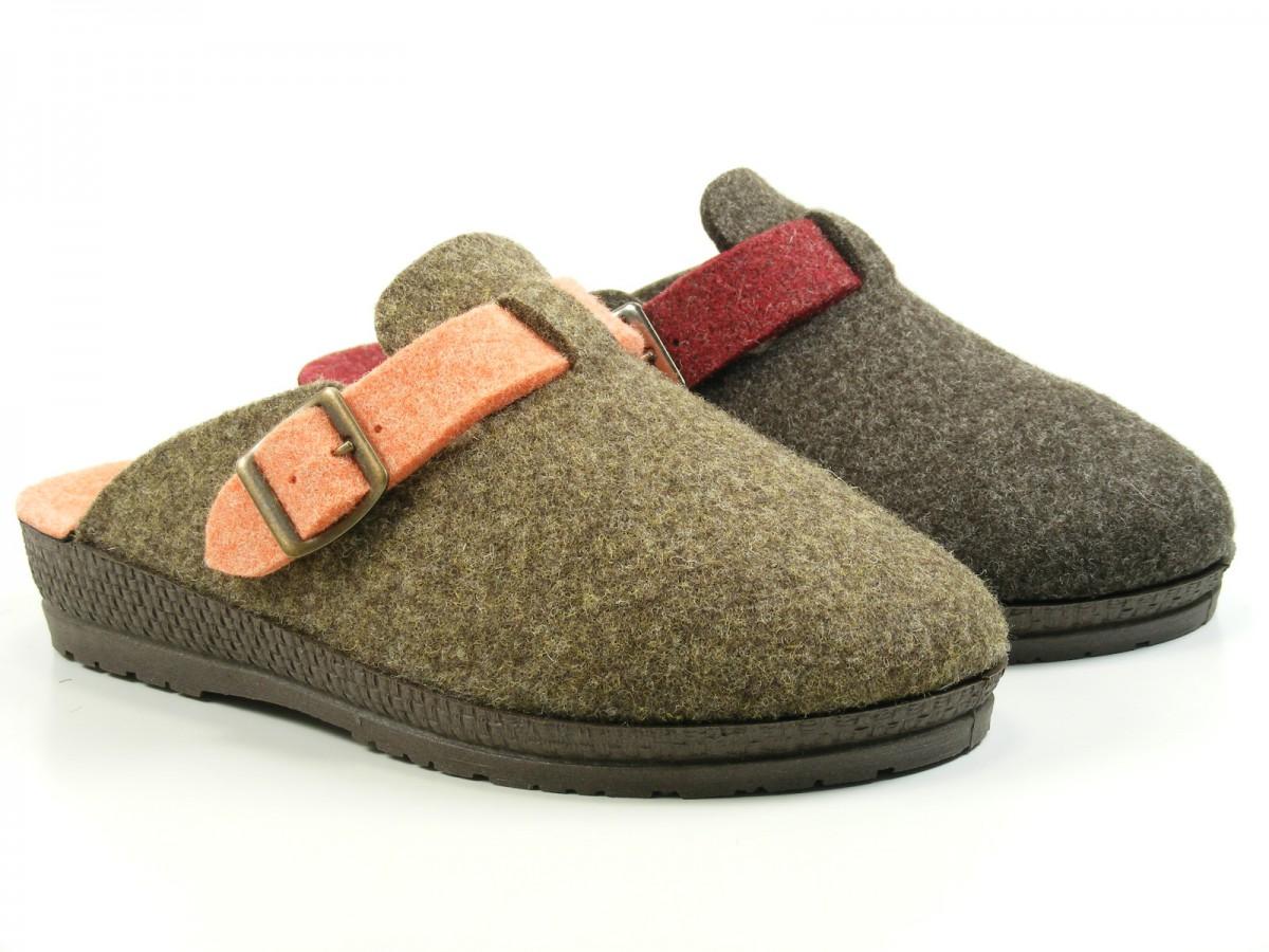 Rohde 2284 ciudad d zapatos calzado zapatillas de andar por casa zuecos fieltro ebay - Zapatillas para casa ...