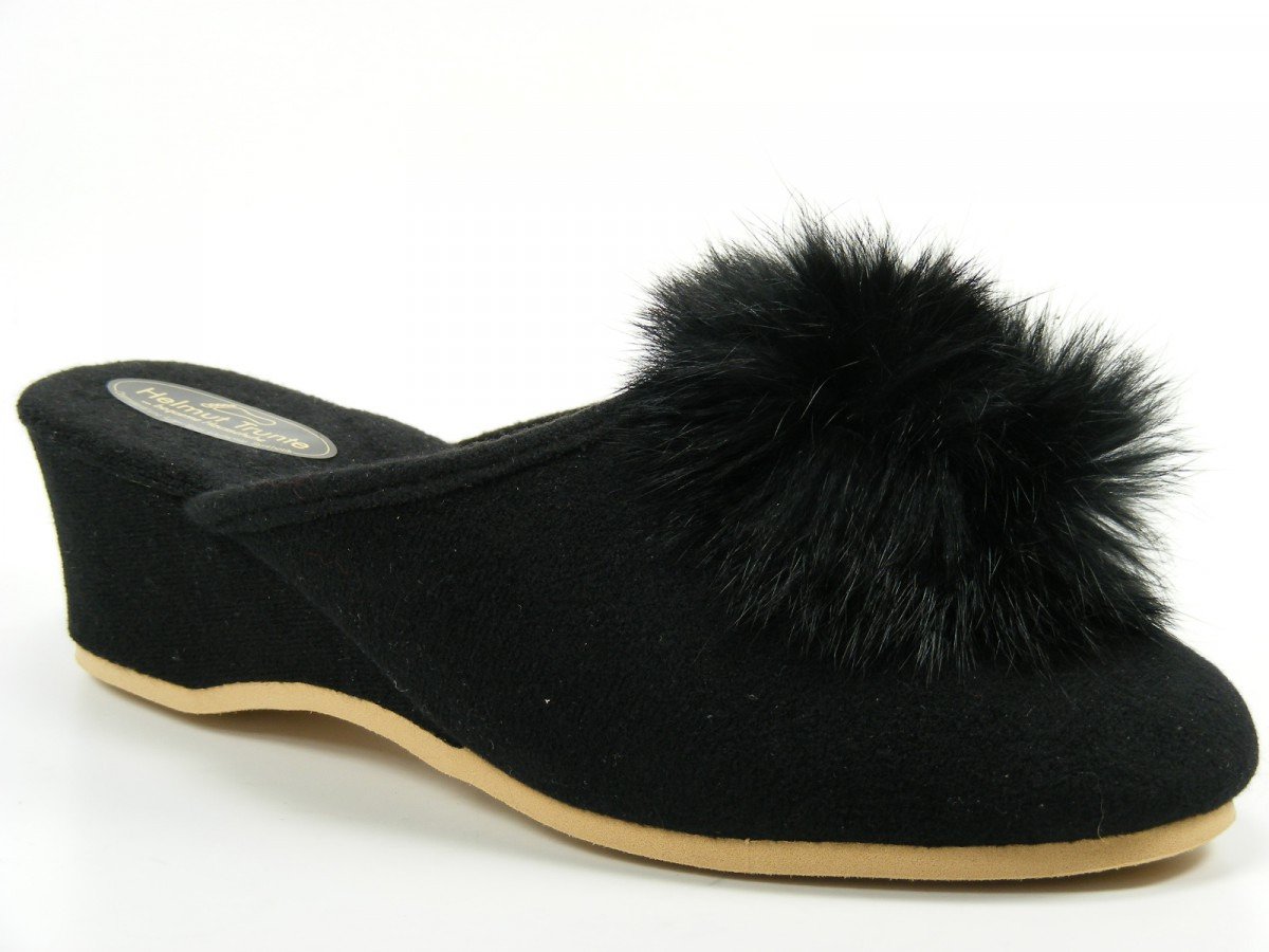 sleepers anne damen hausschuhe pantoffeln mit. Black Bedroom Furniture Sets. Home Design Ideas