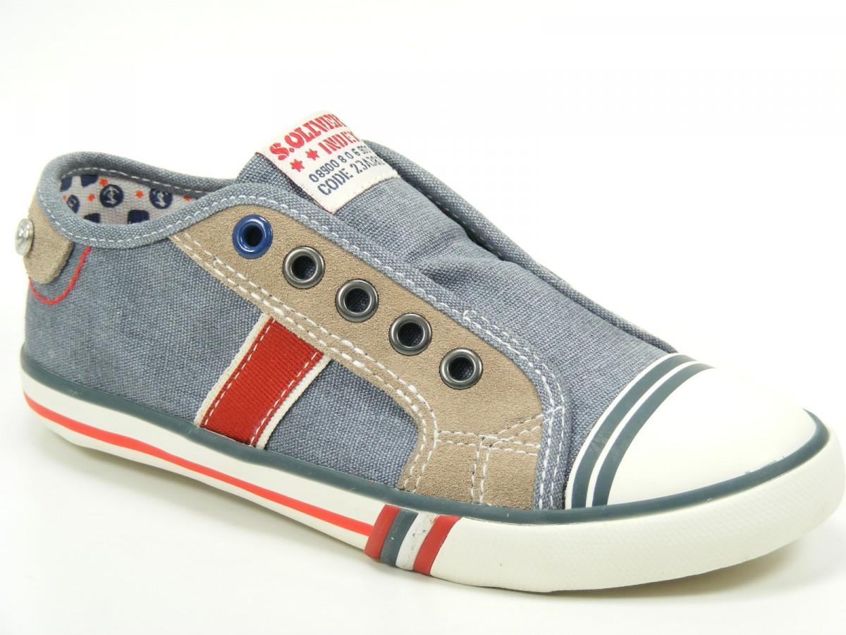 Details zu s.Oliver Schuhe Kinder Sportschuhe Sneaker Canvas 5-44201 ...