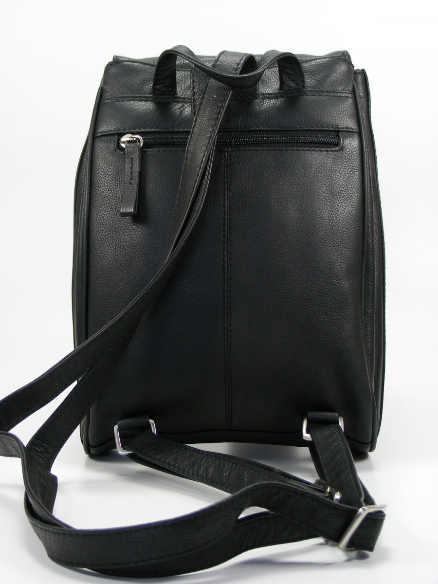 fancy tasche damen umh ngetasche rucksack leder schwarz. Black Bedroom Furniture Sets. Home Design Ideas