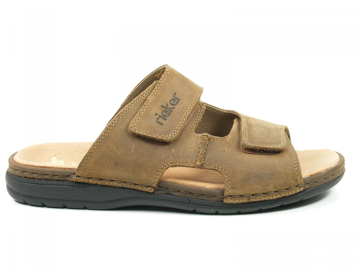 rieker schuhe herren sandalen pantoletten clogs braun. Black Bedroom Furniture Sets. Home Design Ideas