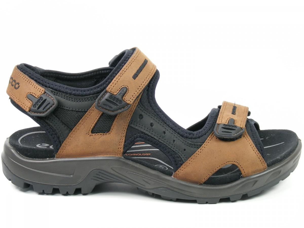 ecco schuhe herren sandalen trekkingsandalen offroad braun. Black Bedroom Furniture Sets. Home Design Ideas