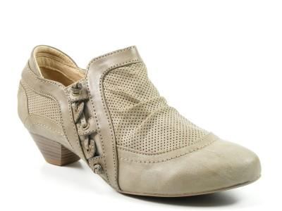 mustang schuhe damen slipper halbschuhe ankle boots beige. Black Bedroom Furniture Sets. Home Design Ideas