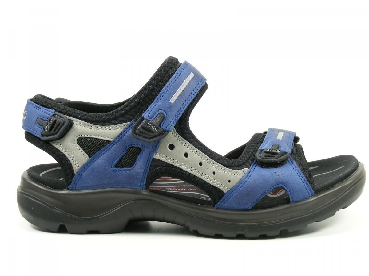 ecco schuhe damen damen sandalen trekking sandalen offroad blau. Black Bedroom Furniture Sets. Home Design Ideas