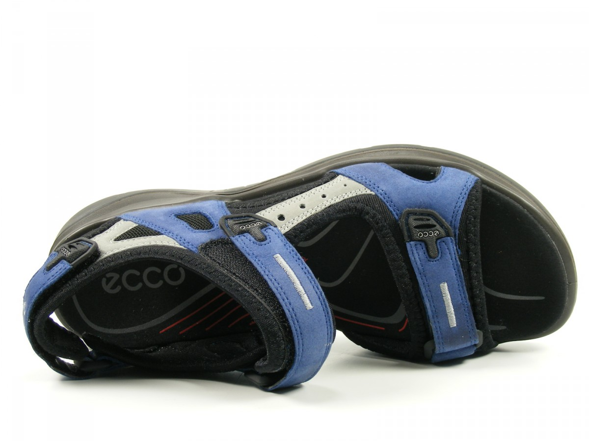 ecco schuhe damen damen sandalen trekking sandalen offroad blau ebay. Black Bedroom Furniture Sets. Home Design Ideas