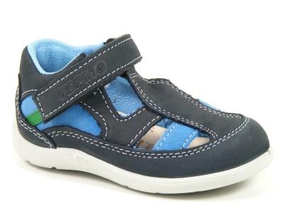 ricosta schuhe sandalen jungen weite mittel edy blau see 19 28200 179 ebay. Black Bedroom Furniture Sets. Home Design Ideas