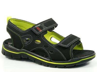 ricosta schuhe sandalen jungen weite mittel miro schwarz 62 21100 090 ebay. Black Bedroom Furniture Sets. Home Design Ideas