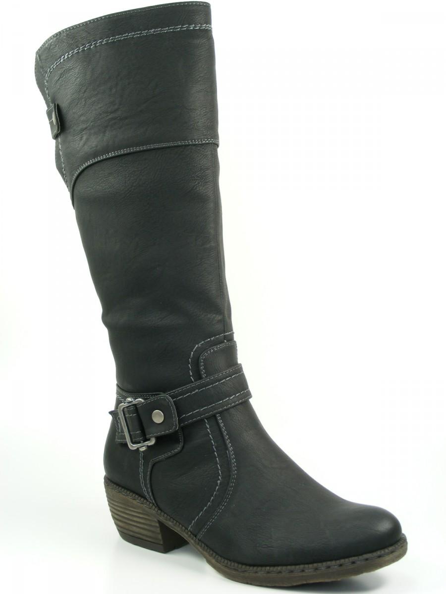 rieker chaussures femme bottes doublure chaude varioschaft noir 93750 00 ebay. Black Bedroom Furniture Sets. Home Design Ideas