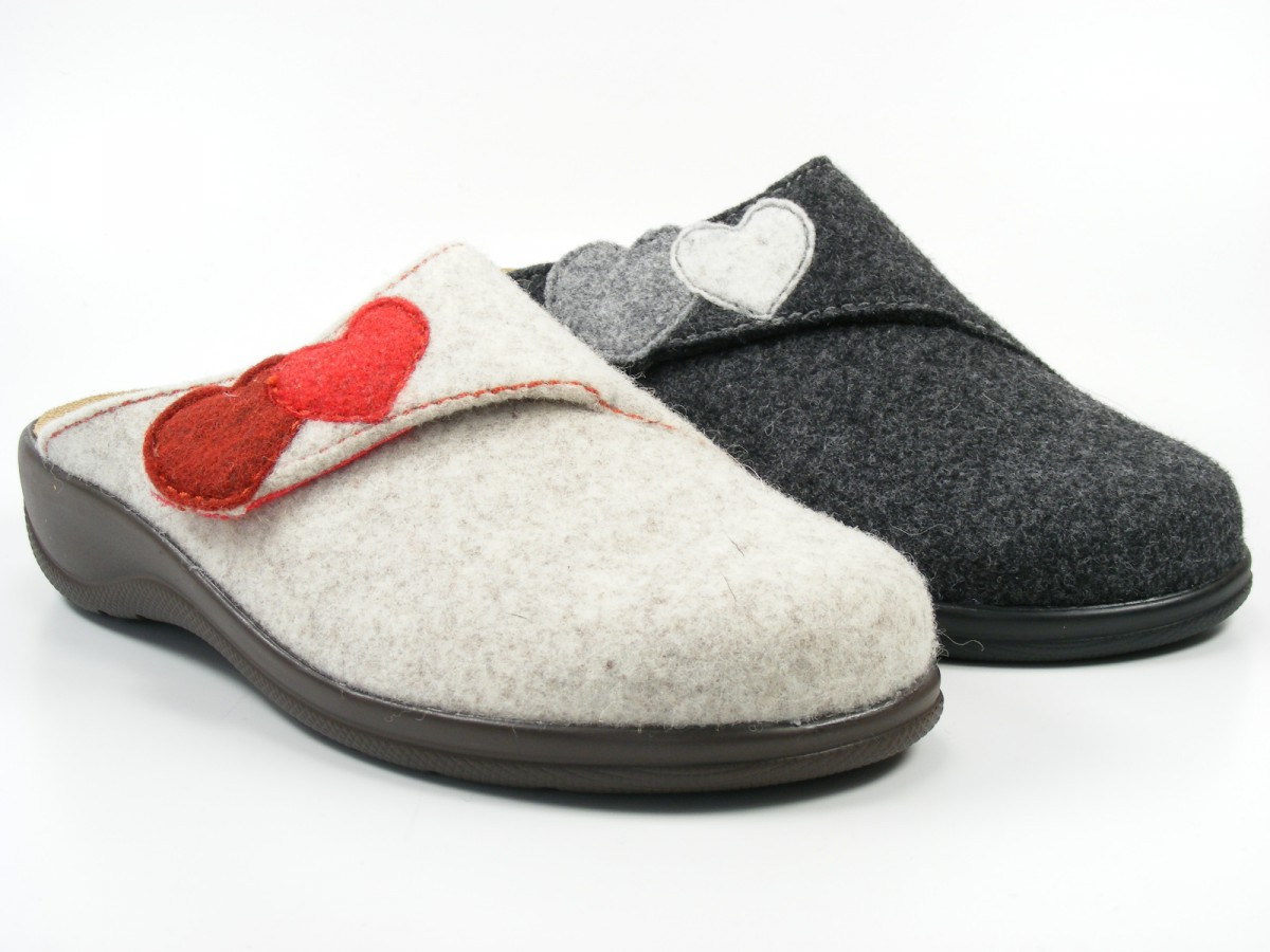 rohde schuhe damen hausschuhe pantoffeln filz wechselfu bett potsdam 6223 ebay. Black Bedroom Furniture Sets. Home Design Ideas