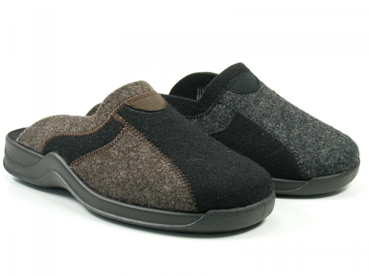 rohde schuhe herren hausschuhe pantoffeln filz vaasa h ebay. Black Bedroom Furniture Sets. Home Design Ideas