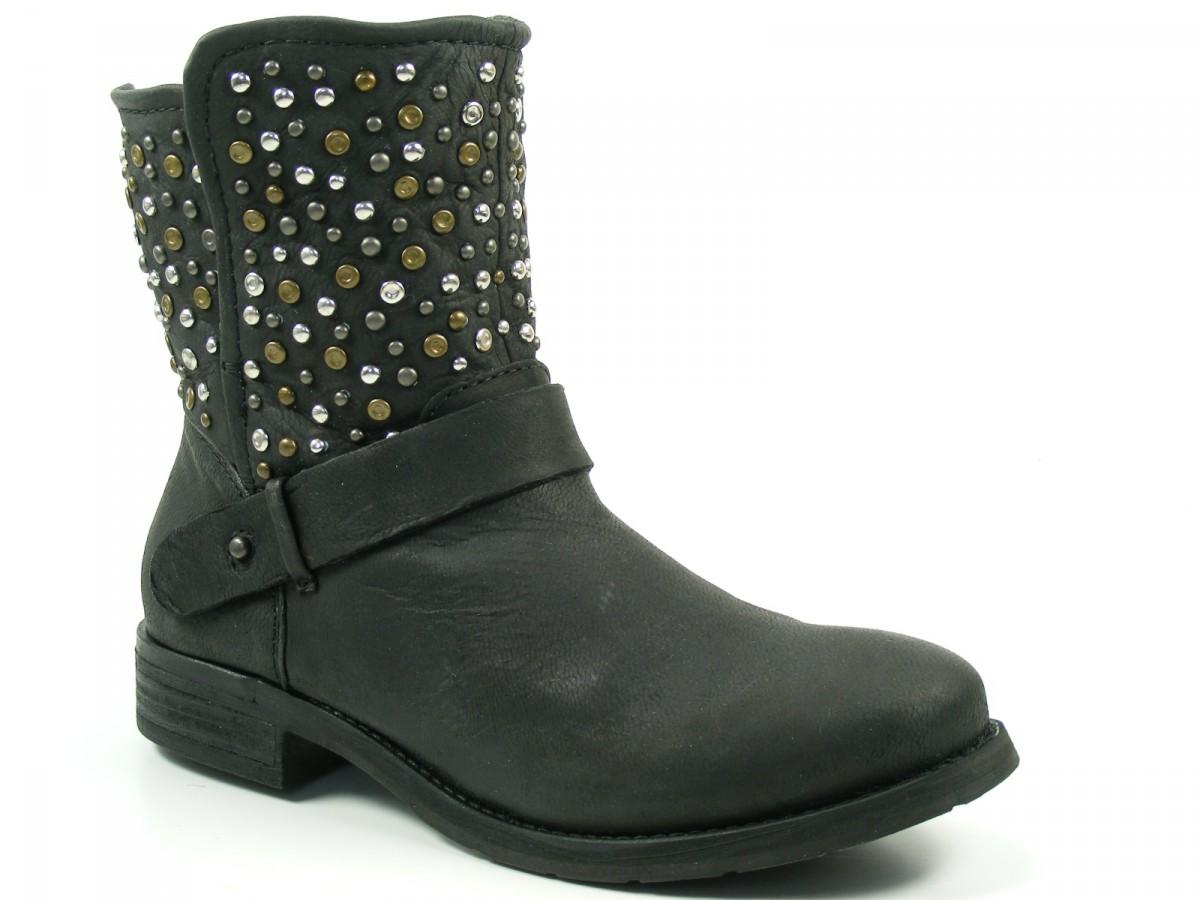 spm schuhe damen stiefeletten ankle boots ixopo ka 11602137 ebay. Black Bedroom Furniture Sets. Home Design Ideas
