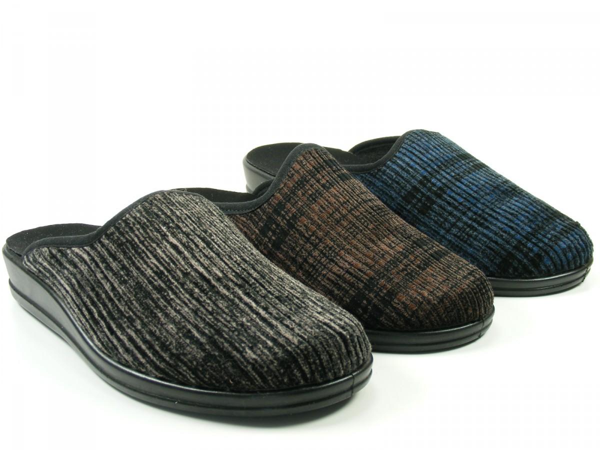 rohde schuhe herren hausschuhe pantoffeln cord lekeberg 2685 ebay. Black Bedroom Furniture Sets. Home Design Ideas