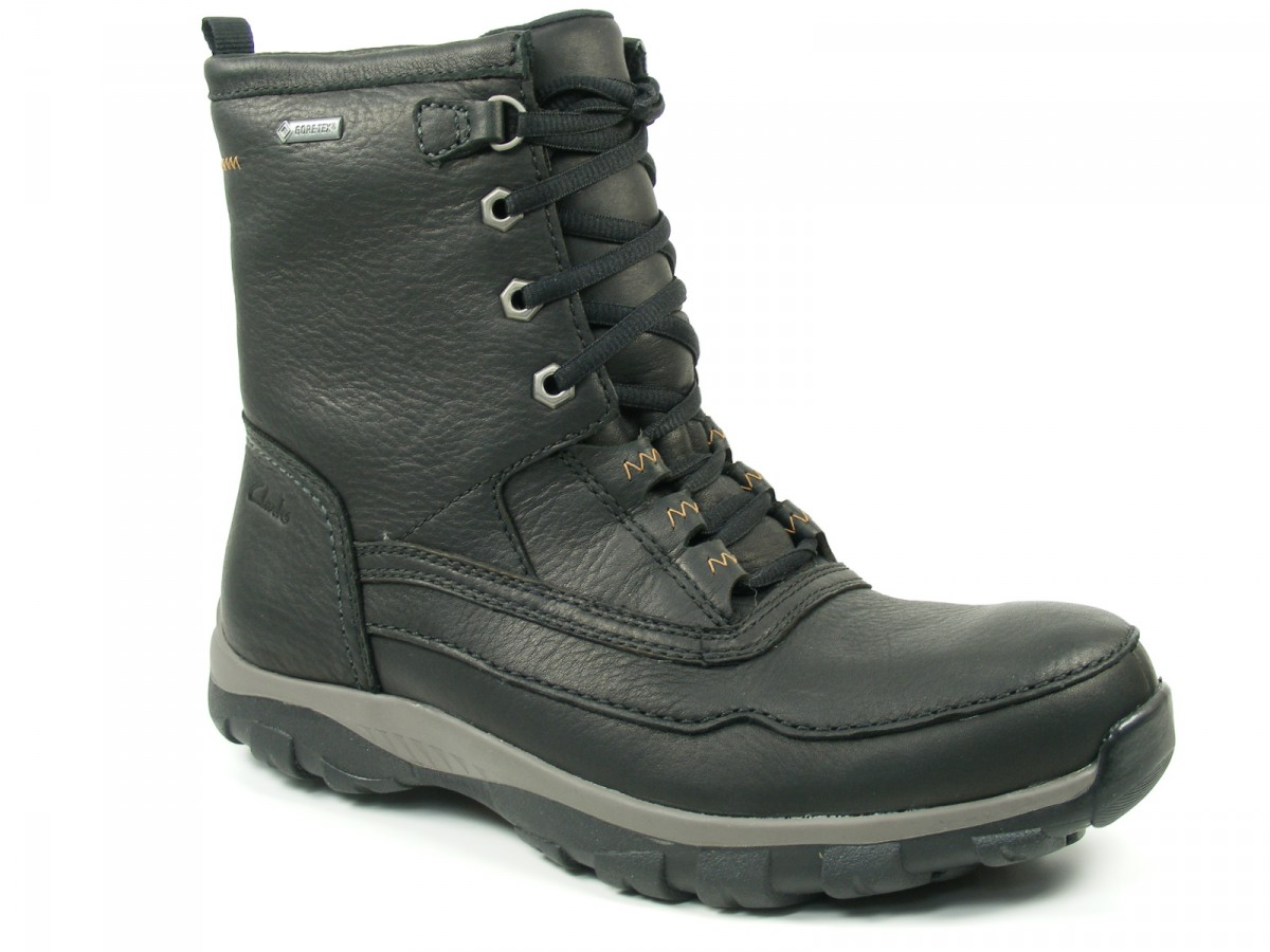 clarks schuhe herren stiefel boots goretex quantockhi gtx ebay. Black Bedroom Furniture Sets. Home Design Ideas