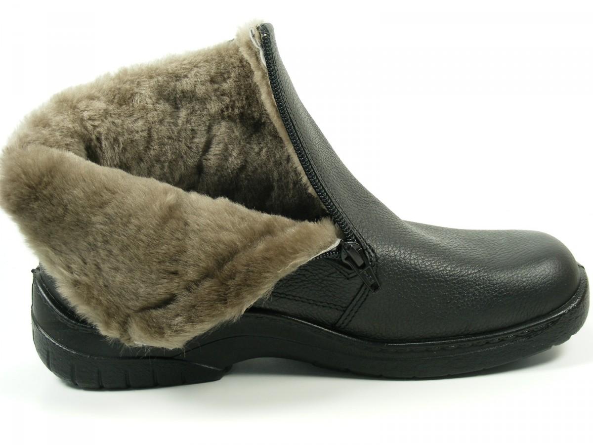 jomos schuhe herren stiefel stiefeletten lammfell feetback 406504 ebay. Black Bedroom Furniture Sets. Home Design Ideas