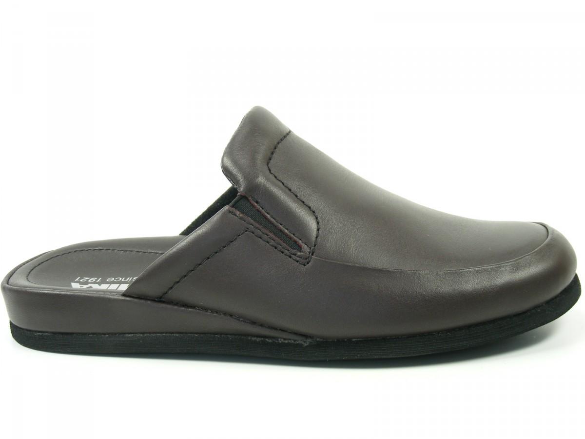 romika herren hausschuhe pantoffeln leder weite g carlo 02. Black Bedroom Furniture Sets. Home Design Ideas