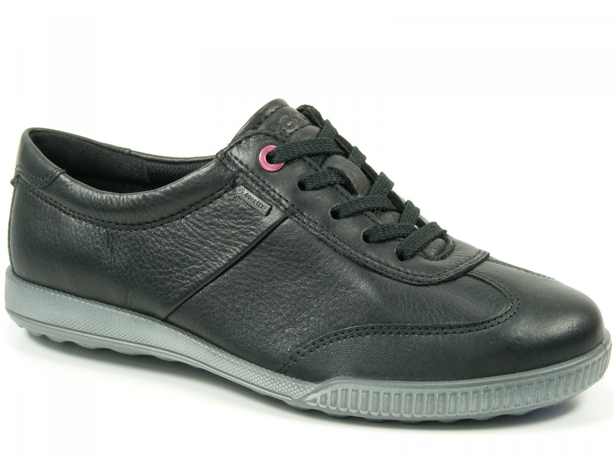 ecco schuhe damen halbschuhe sneaker goretex crisp lace 234093 ebay. Black Bedroom Furniture Sets. Home Design Ideas