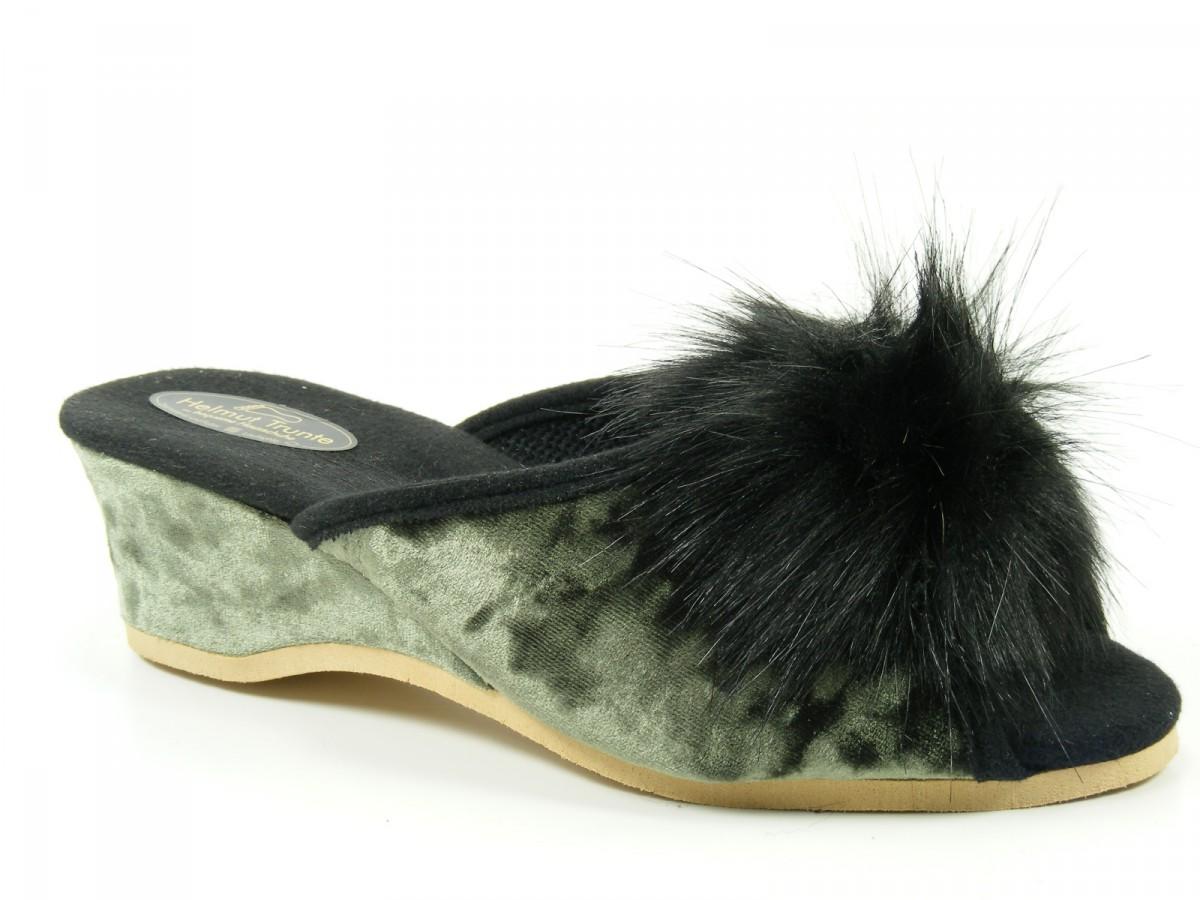helmut trunte schuhe damen hausschuhe pantoffeln 15040 ebay. Black Bedroom Furniture Sets. Home Design Ideas