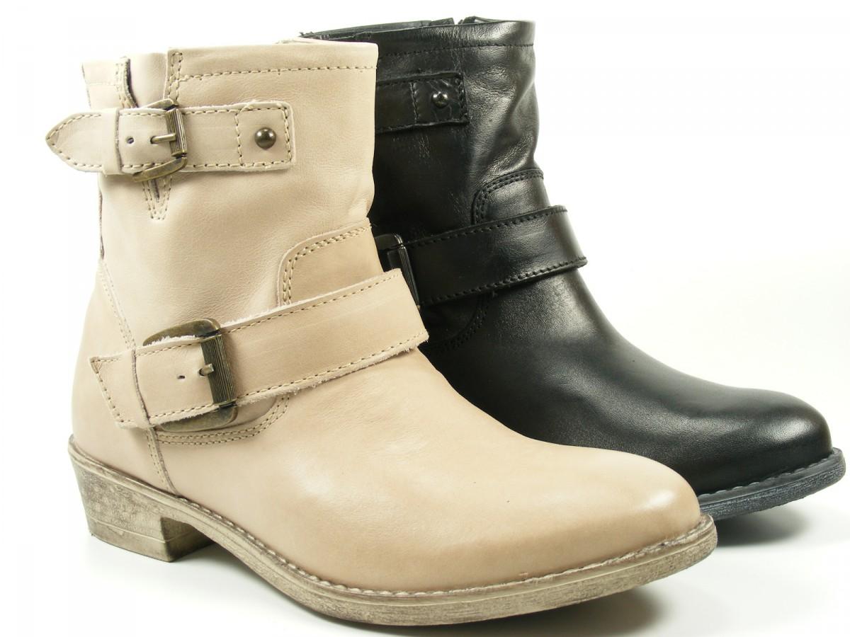 tamaris schuhe damen stiefeletten biker boots leder 1. Black Bedroom Furniture Sets. Home Design Ideas