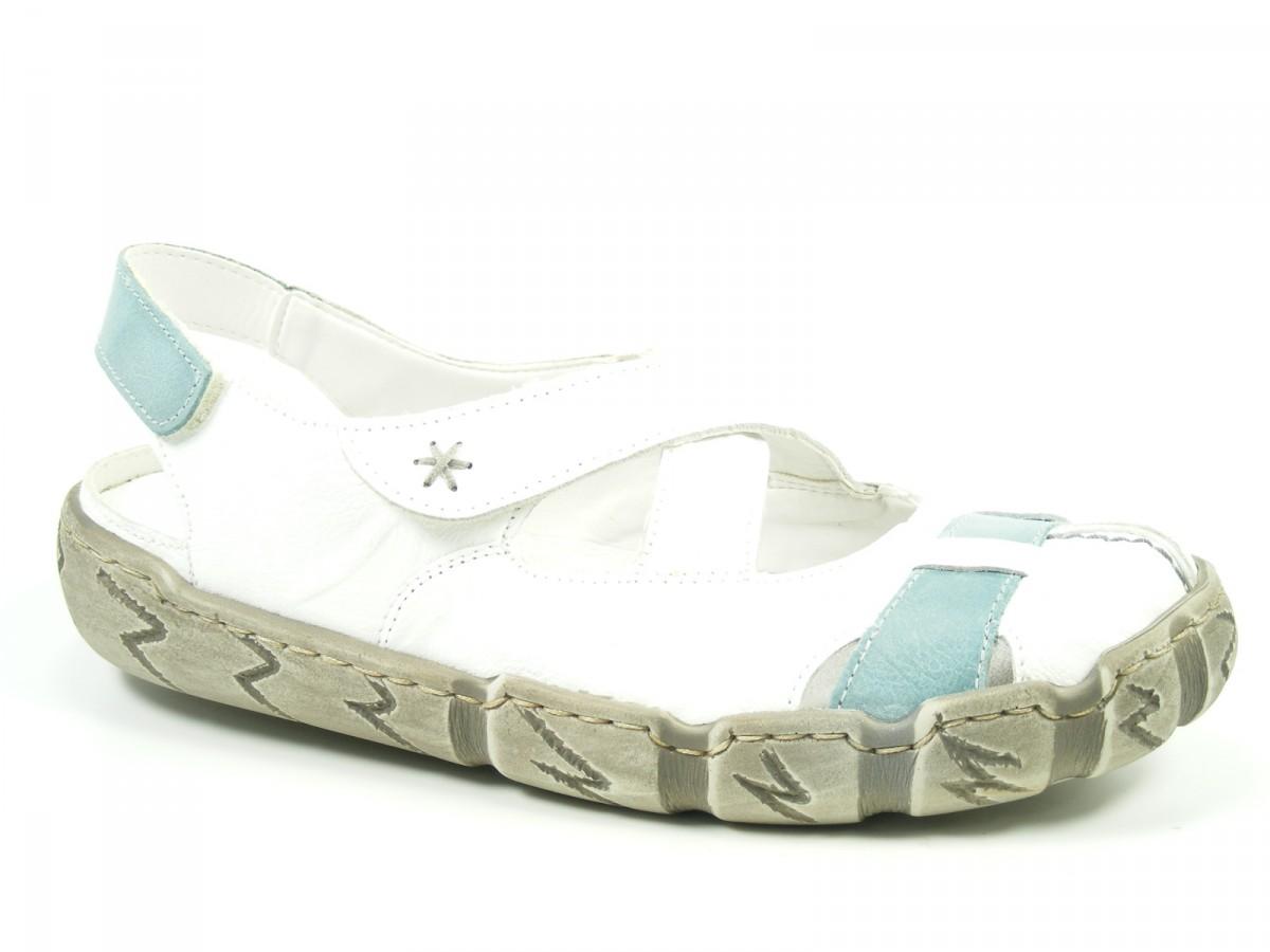 rieker schuhe damen ballerinas sling sandalen l0376 80 ebay. Black Bedroom Furniture Sets. Home Design Ideas
