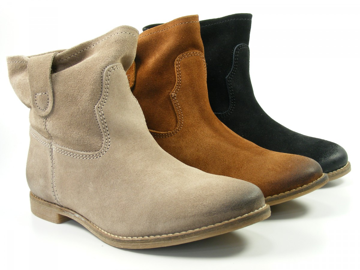 spm schuhe damen schlupf stiefeletten ankle boots amora 60756276 ebay. Black Bedroom Furniture Sets. Home Design Ideas