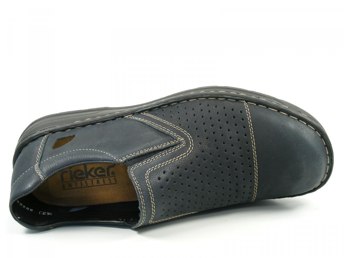 rieker schuhe herren slipper extra weit 08464. Black Bedroom Furniture Sets. Home Design Ideas