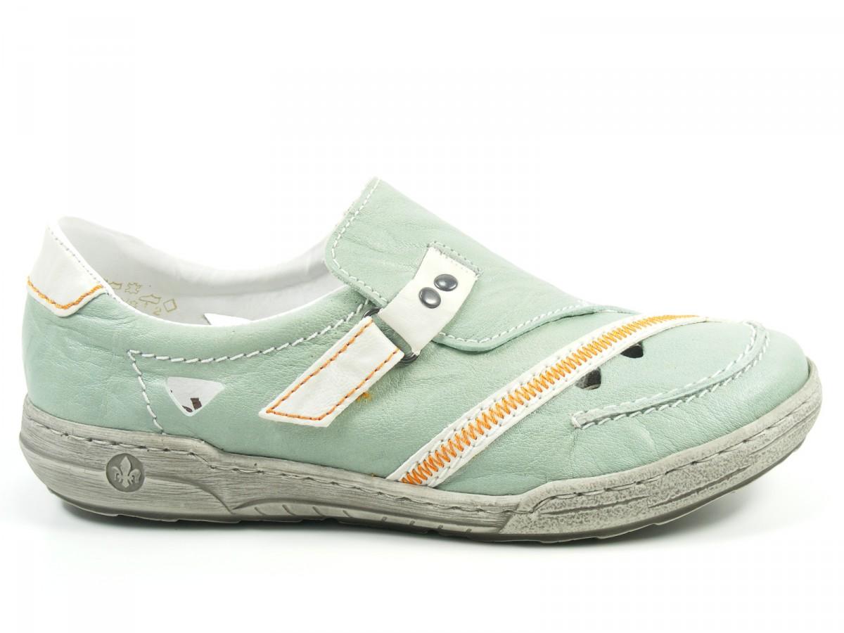 Details about Rieker Shoes Women's Low Shoes Trainers Slippers L3365