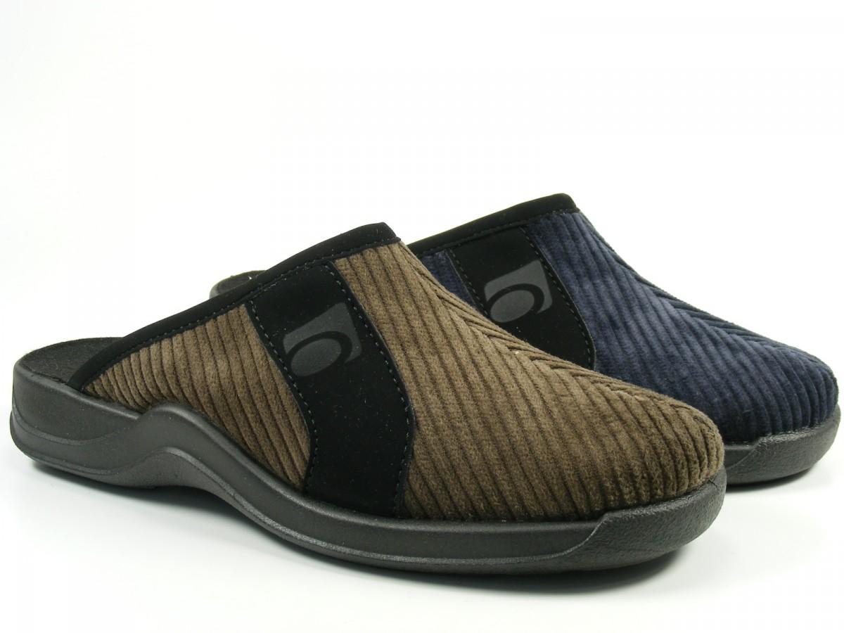 rohde herren schuhe hausschuhe pantoffeln cord vaasa h 2744 ebay. Black Bedroom Furniture Sets. Home Design Ideas