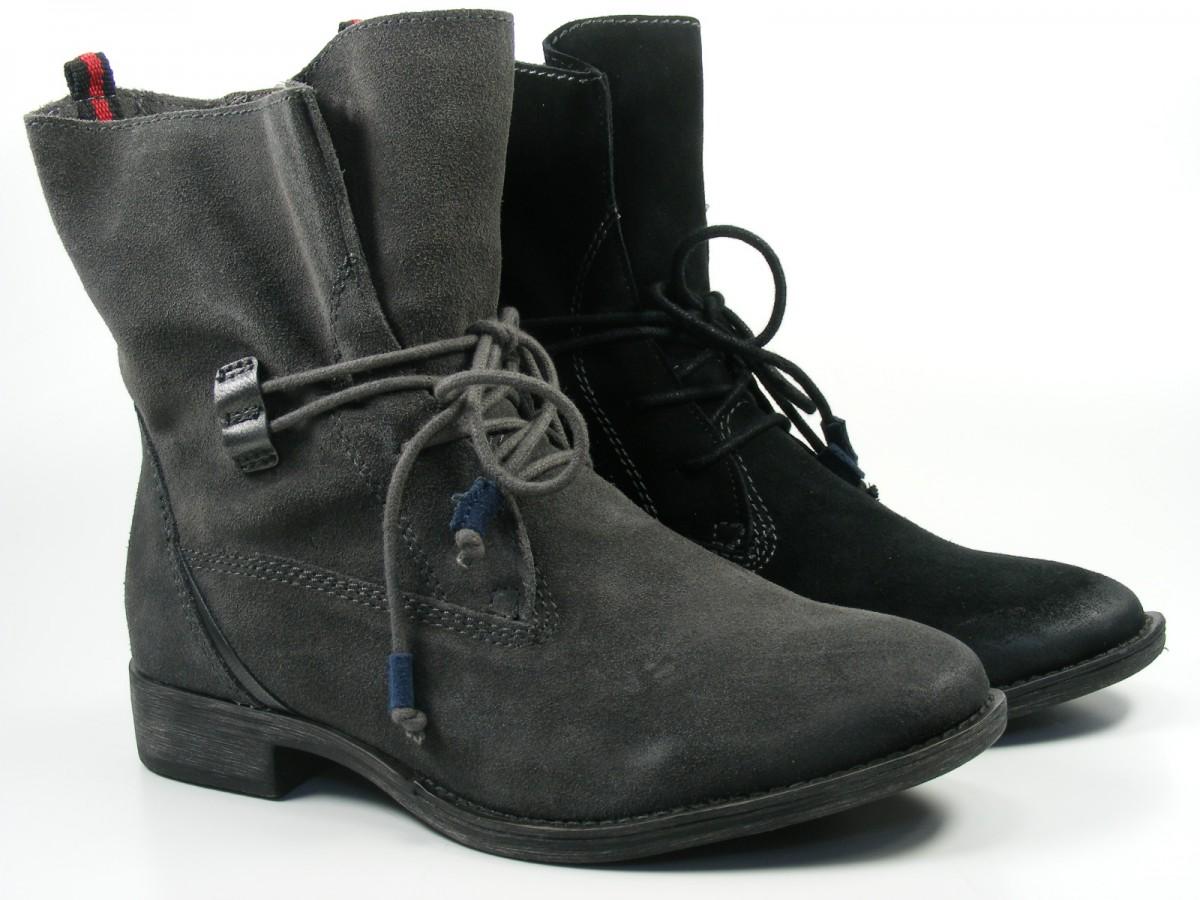 tamaris schuhe damen stiefeletten desert boots 1 25146 23 ebay. Black Bedroom Furniture Sets. Home Design Ideas