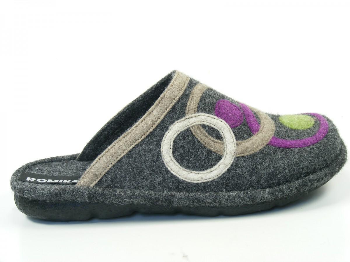 romika schuhe damen hausschuhe pantoffeln mikado 70 22070 54. Black Bedroom Furniture Sets. Home Design Ideas
