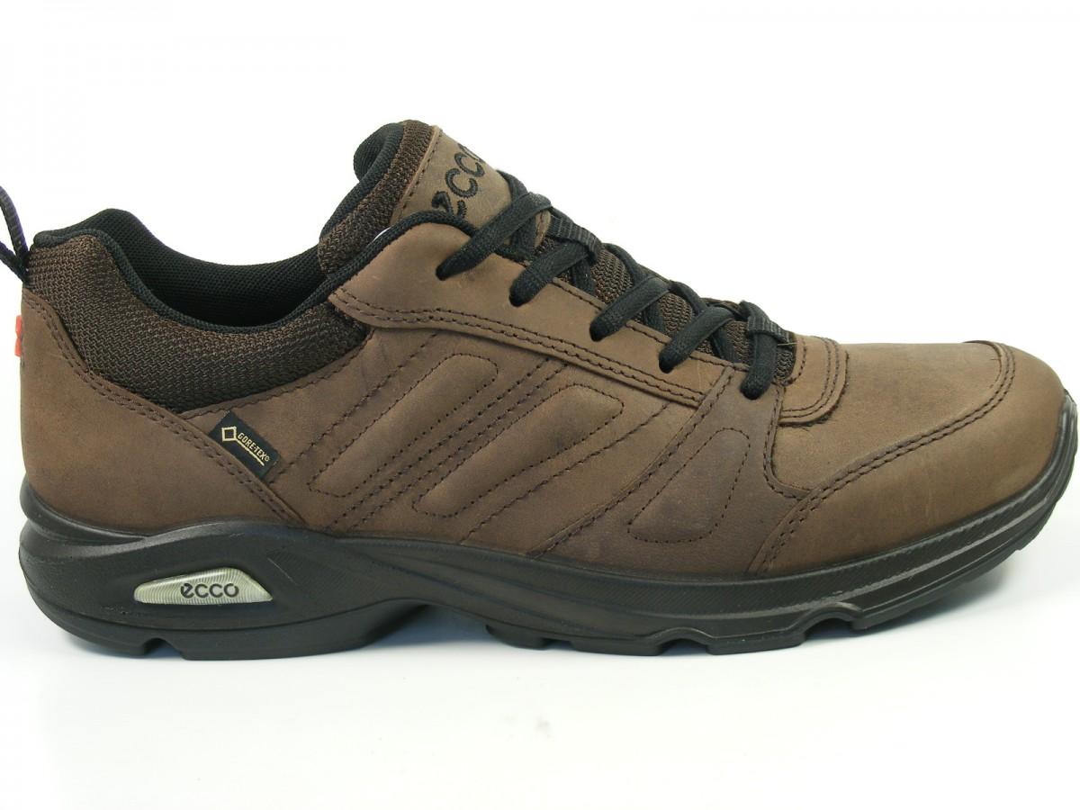 Details zu Ecco Schuhe Herren Halbschuhe Sneaker Goretex Light III ...