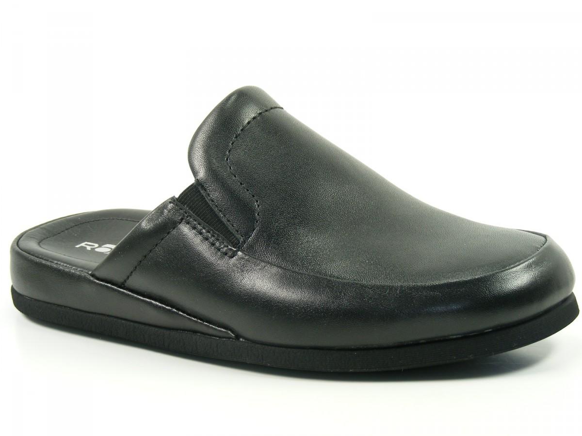 rohde herren hausschuhe pantoffeln leder neu ebay. Black Bedroom Furniture Sets. Home Design Ideas