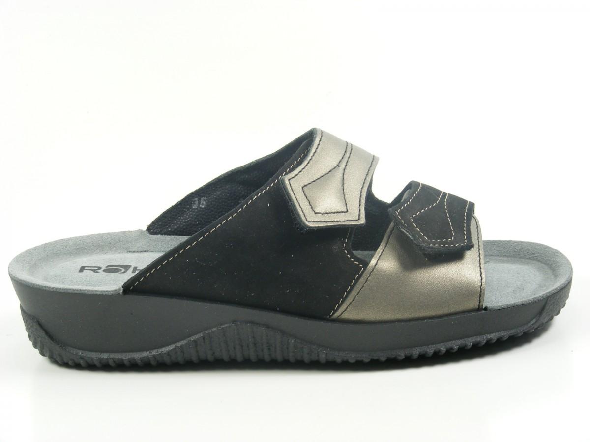rohde 1942 soltau 40 damen sandalen pantoletten clogs weite f1 2 ebay. Black Bedroom Furniture Sets. Home Design Ideas