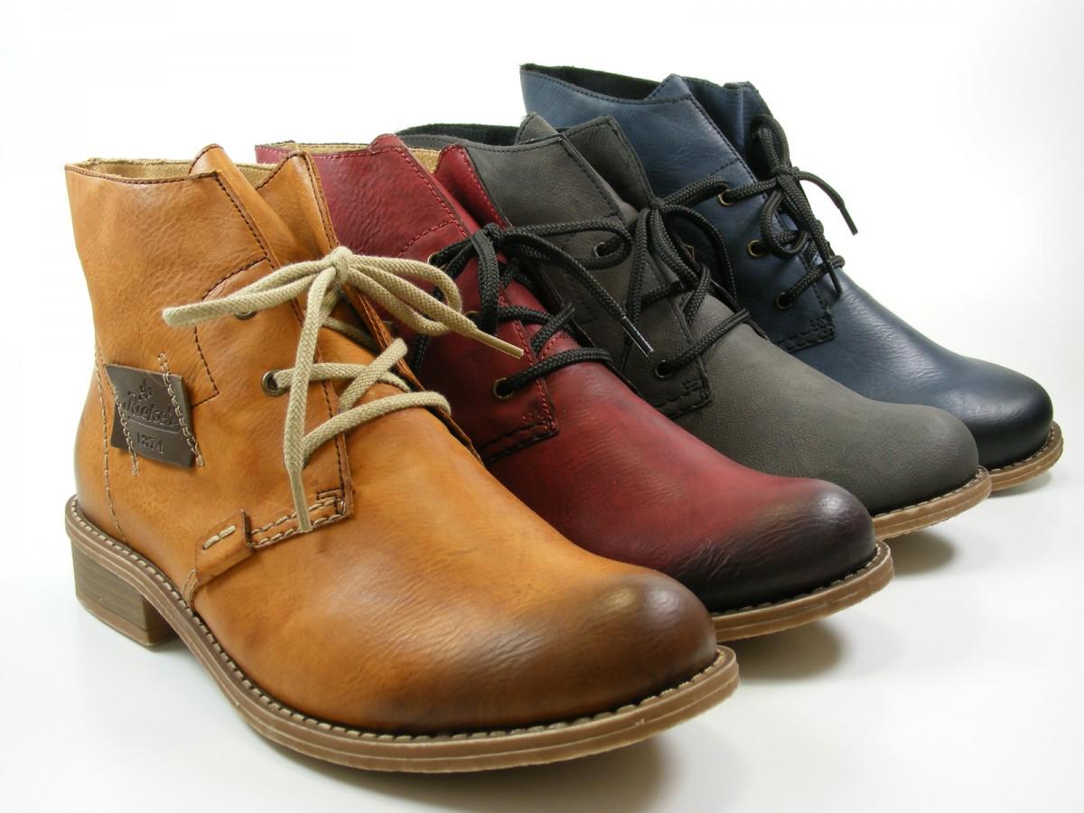 rieker 72740 schuhe damen stiefeletten boots warmfutter. Black Bedroom Furniture Sets. Home Design Ideas