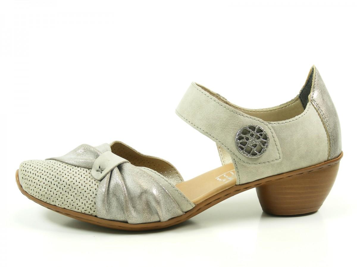 rieker 43721 schuhe sandalen damen pumps. Black Bedroom Furniture Sets. Home Design Ideas