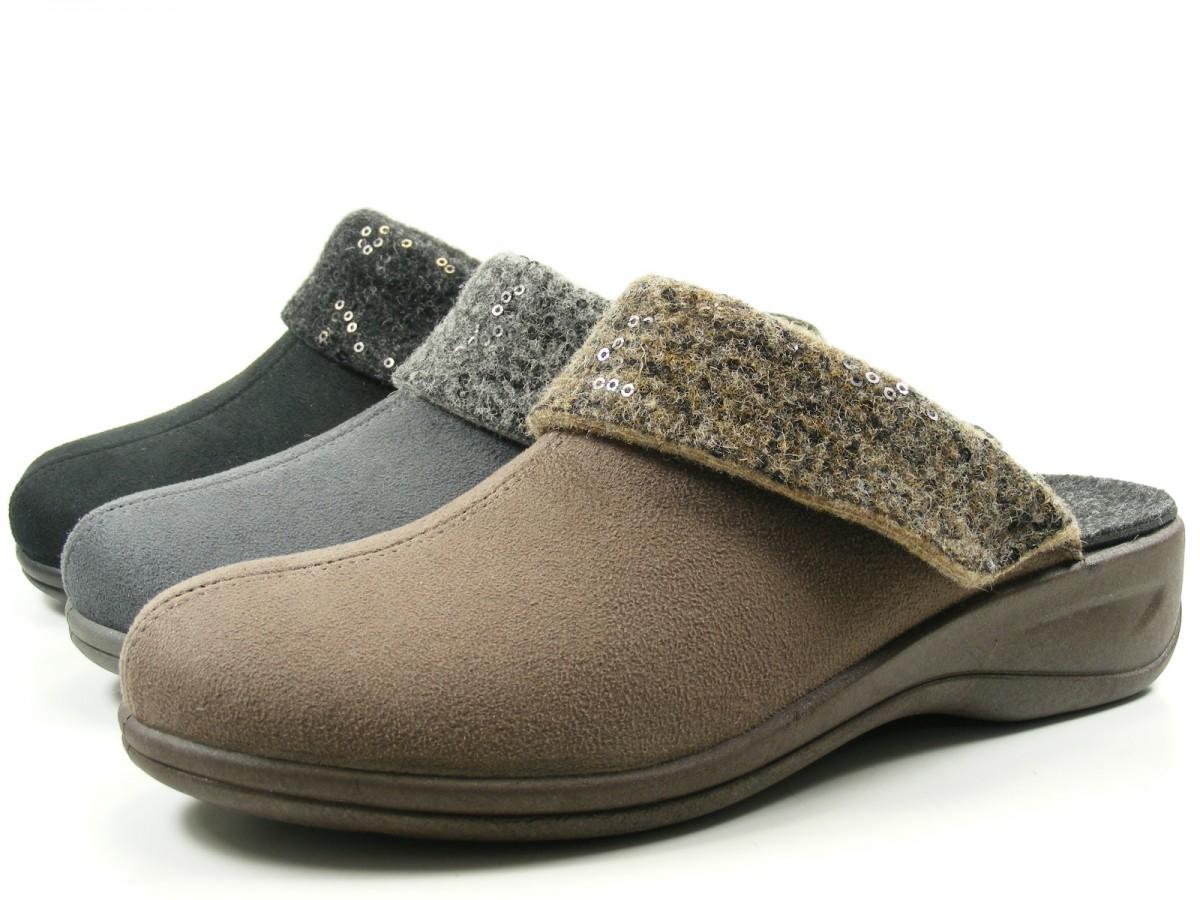 rohde 2411 verden schuhe hausschuhe pantoffeln wechselfu bett weite h ebay. Black Bedroom Furniture Sets. Home Design Ideas