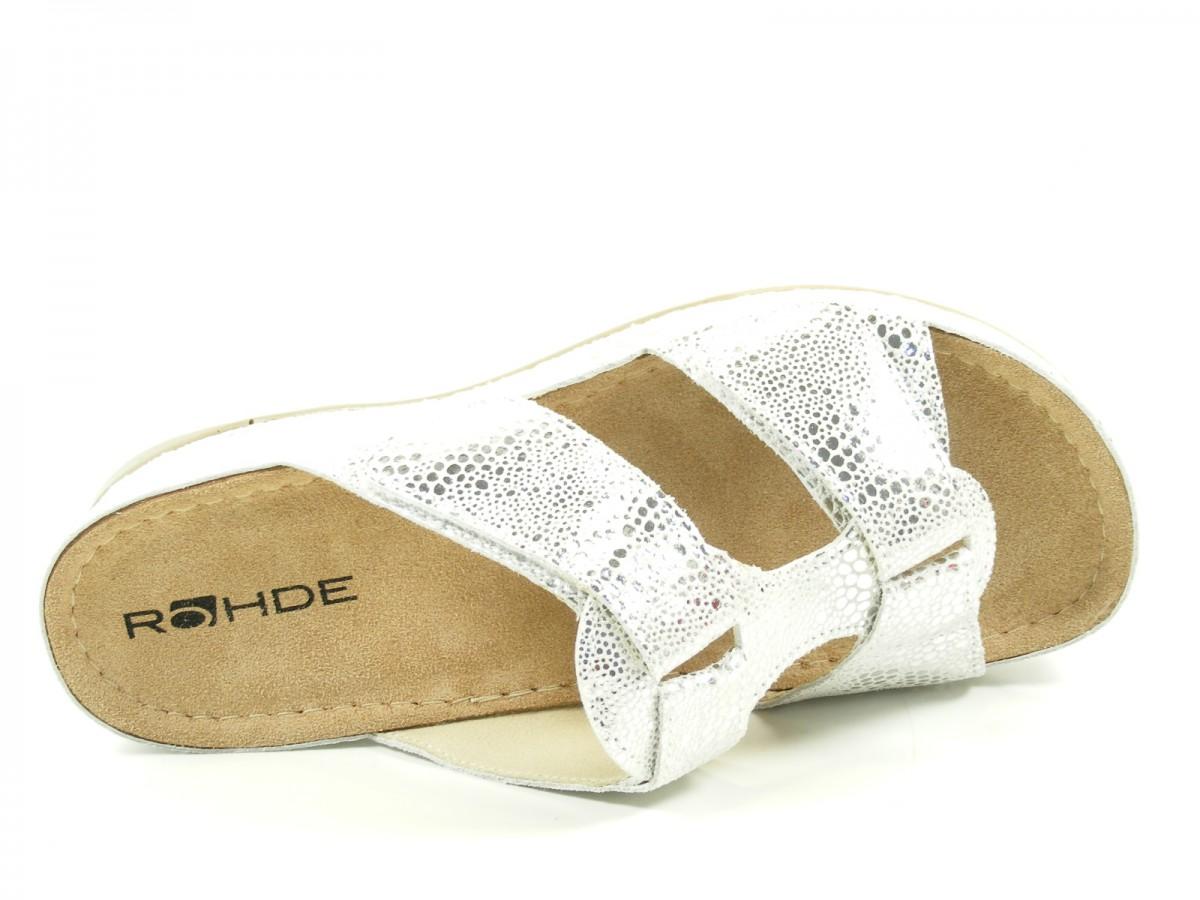 rohde 5793 giessen 40 damen sandalen pantoletten clogs weite g ebay. Black Bedroom Furniture Sets. Home Design Ideas