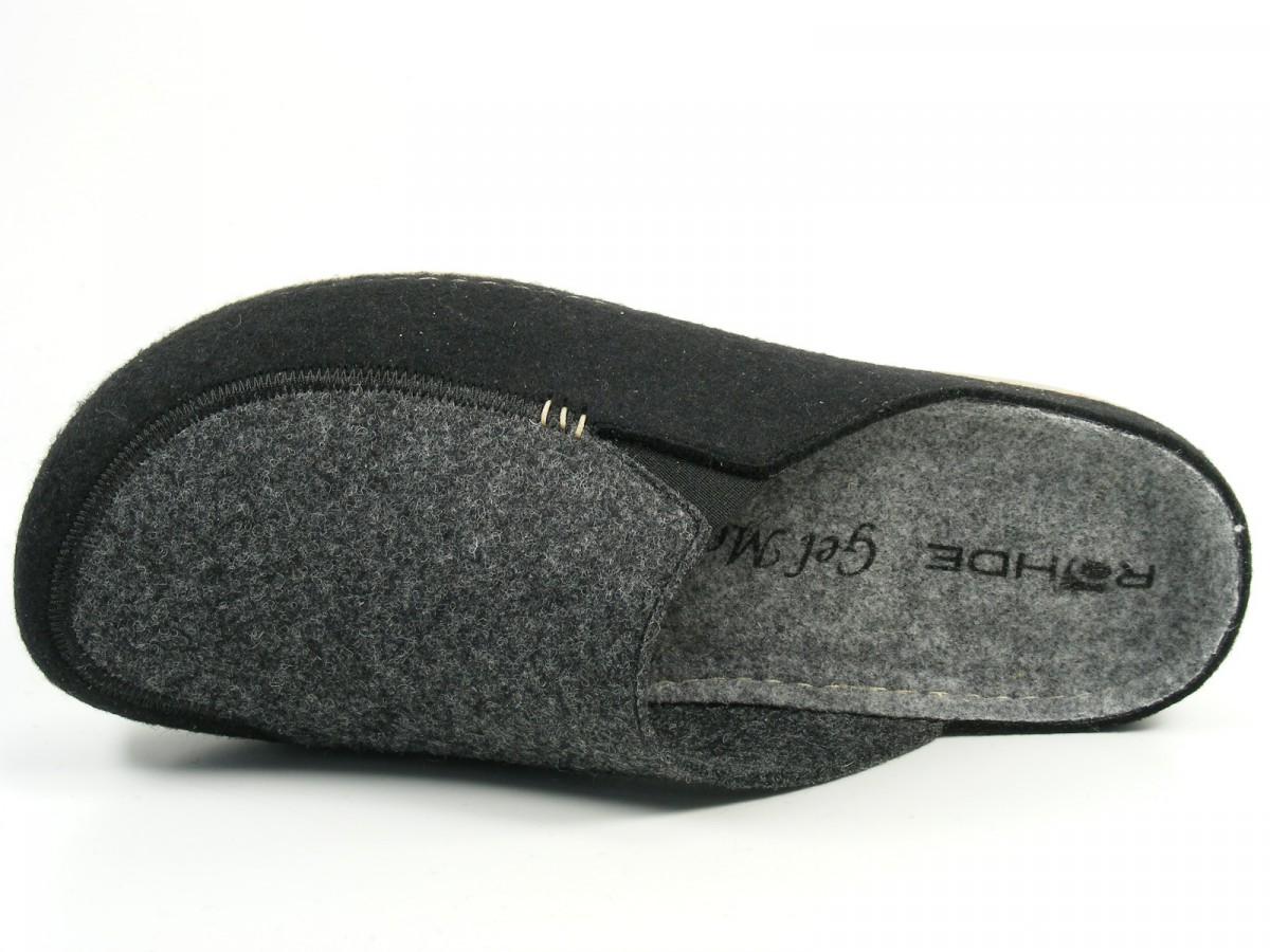rohde schuhe herren hausschuhe pantoffeln filz giessen h 6650. Black Bedroom Furniture Sets. Home Design Ideas