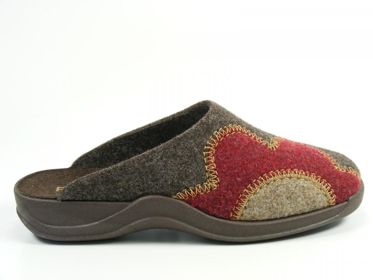 rohde schuhe damen hausschuhe pantoffeln filz weite g vaasa d 2307 ebay. Black Bedroom Furniture Sets. Home Design Ideas